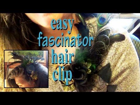 Easy Fascinator Hair Piece with a glue gun| | Zazu's Off the Topic Tutorials