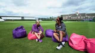 ICC 360 feature – Mignon du Preez and Chamari Athapaththu discuss women's cricket