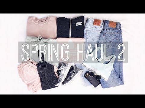 Spring TRY ON Haul 2 // Brandy Melville, Nike, Urban Outfitters+