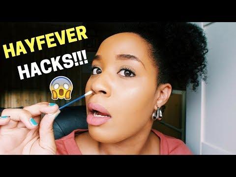 3 HAYFEVER HACKS THAT ACTUALLY WORK!!! | SUMMER HACKS