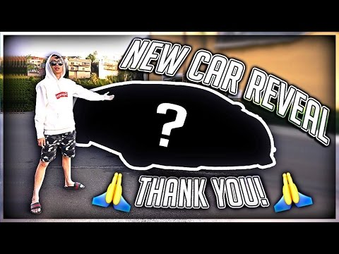 MY NEW CAR REVEAL!!! (THANK YOU)