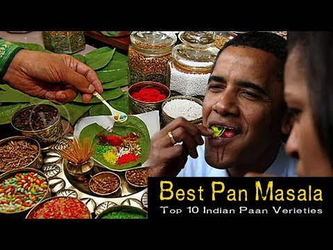 top 10 best pan masala in india 2017-18 | most popular paan in the world | india pan masala