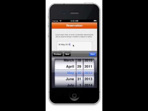 Hotel App Template for iPhone - Source Code For Sale