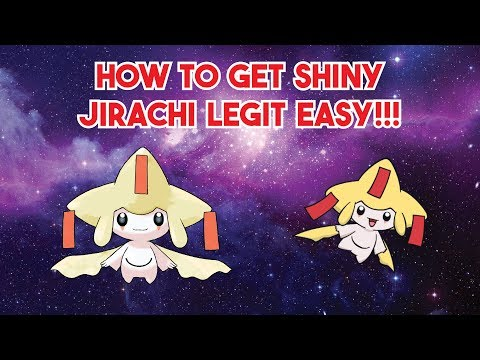 How to Get Shiny Jirachi LEGIT in Pokemon Ruby and Sapphire