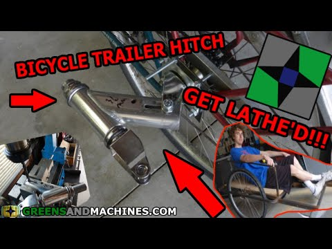 Bicycle Trailer Hitch Design