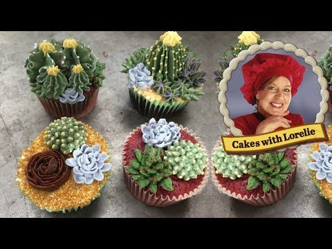 How to Make Buttercream Succulents