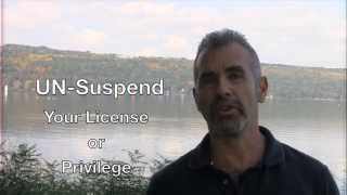 How To Un Suspend New York Driver S License Or Privileges