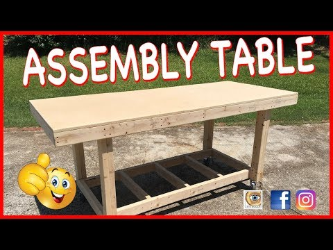 Making An Assembly, Hobby, Craft, Cricut, Beer Pong, Whatever Table On Wheels