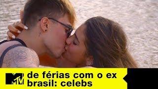 Rafa conquista Cathe e dá beijão em date | De Férias com o Ex Brasil Celebs Ep. 11