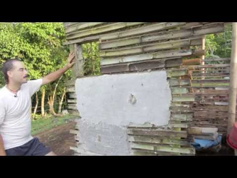 Murali-Rama House - Part 1/4: Bamboo and rammed earth construction