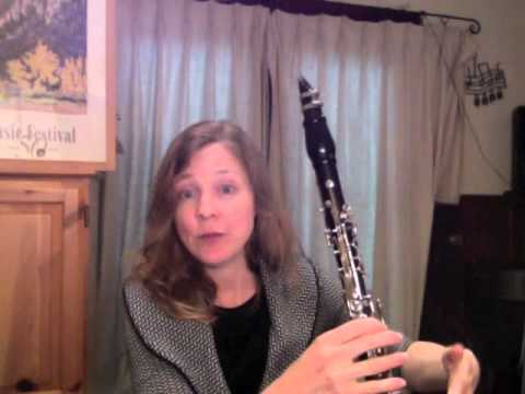 Clarinet Lesson: How to tongue faster and play with great staccato on the clarinet