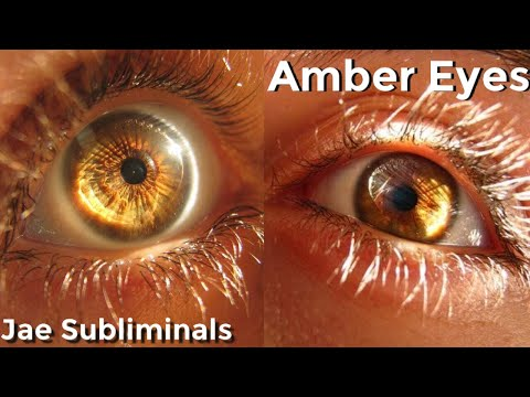 Get Attractive Amber Eyes || Subliminal