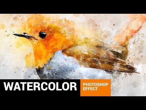Perfectum 2 - Watercolor Artist Photoshop Action Tutorial
