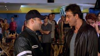 Sanjay Dutt fights for Salman Khan