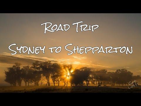 Roadtrip -  Sydney to Shepparton
