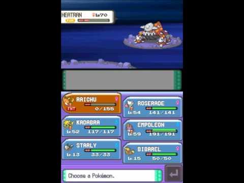 Pokémon Pearl - Part 107 (VS. Heatran)