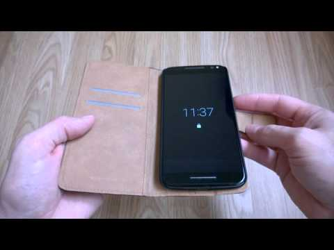 Moto X Style (Pure Edition) Leather Flip Wallet Case Review