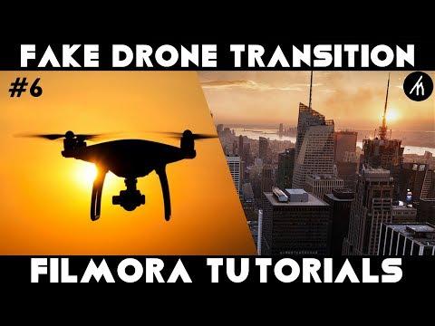 Filmora Tutorial | Fake Drone Transition Using Google Maps | How to Edit with Filmora