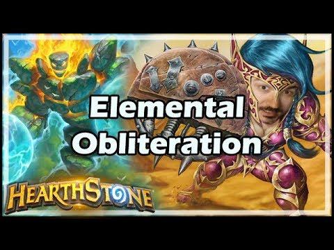 [Hearthstone] Elemental Obliteration! - Tavern Brawl #146