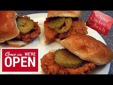 My Spicy Chicken  Sandwich Dupe Recipe... Simple and Delicious!!!