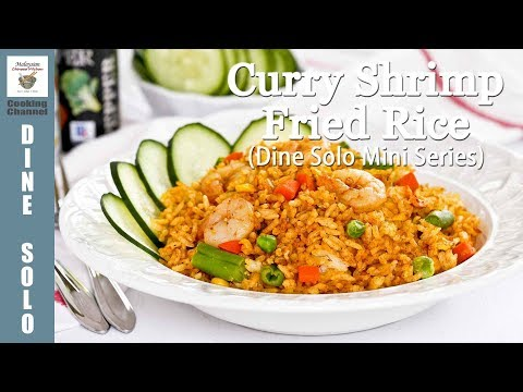 Curry Shrimp Fried Rice | Malaysian Chinese Kitchen