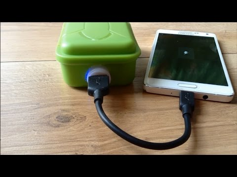 How to Make a Power Bank from old Laptop Battery
