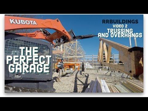 Best Garage Video 2 (trussing and overhangs)