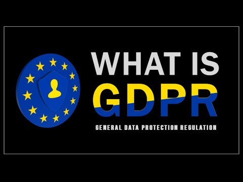 What is GDPR - General Data Protection Regulation