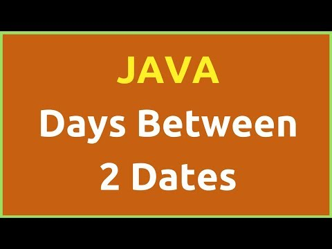 Java - How To Get Days Difference Between 2 Dates Using Java NetBeans [ with source code ]