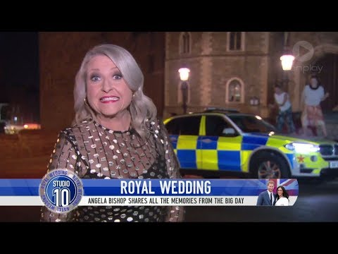 Brits Hilariously Hijack Royal Wedding Cross | Studio 10