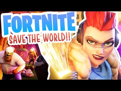 FORTNITE SAVE THE WORLD!!! [#2]