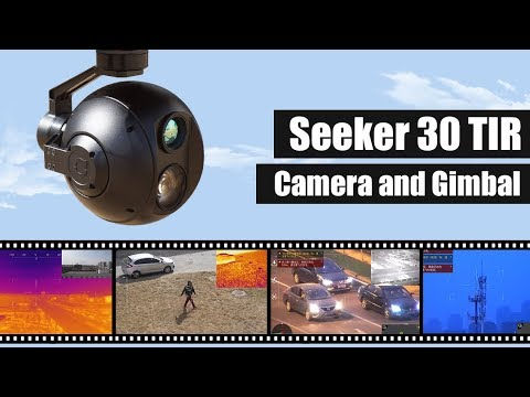 FOXTECH SEEKER-30 TIR 30X Optical Zoom Camera with 3-axis Gimbal