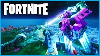 This was the BEST Forntnite event EVER! (Mecha Bear vs Monster Final Showdown)