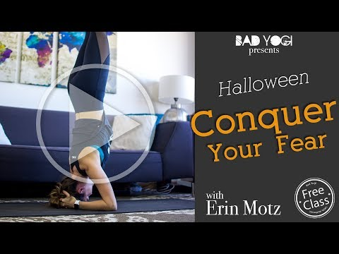 Conquer Your Fears! Halloween Headstands
