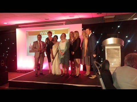 NHS Approved Translation Company,  at the Achieving Excellence Awards 2015