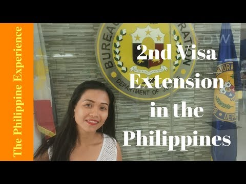 (Philippines) My 2nd Visa Extension and Applying for the ACR I-Card (2018)
