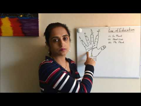 Palmistry: Line Of Education