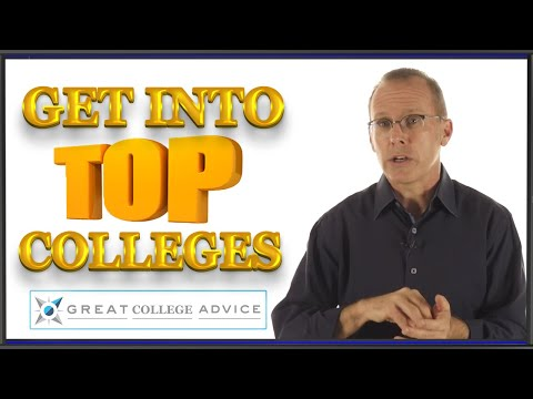 Get into top colleges with Great College Advice