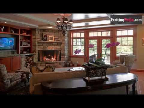 20 Corner Fireplace Ideas for Living Room with TV
