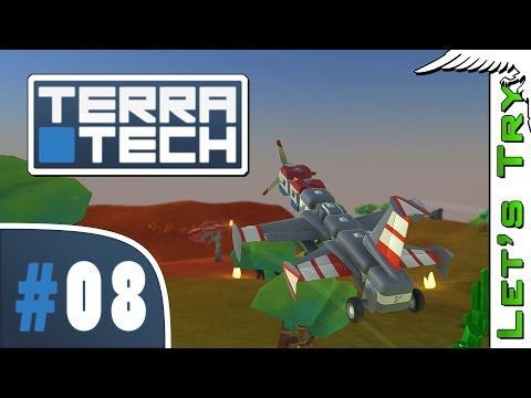 TerraTech #08 Derp Plane - Let's Try