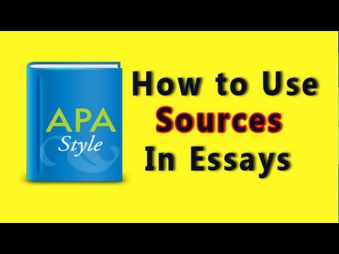APA Citations--Sample Research Paper