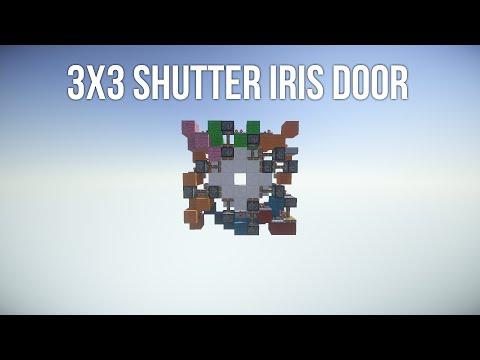 3x3 'Shutter' Iris Door
