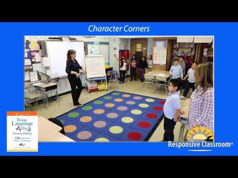 Doing Language Arts, Character Corners