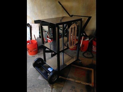 Welding Cart project part4