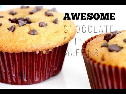 The Best Chocolate Chip Muffins~ 초콜릿칩 머핀 만들기
