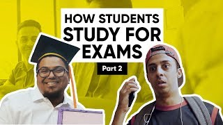 How Students Study For Exams | Part 2 | Jordindian