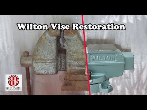 Crusty Wilton Vise Restoration