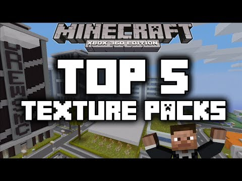 Minecraft Xbox 360 : Top 5 Texture Packs
