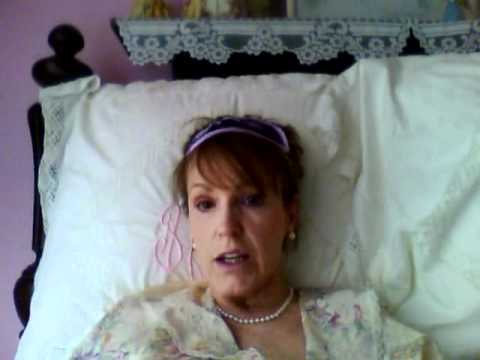 Southern Belle Takes to Her Bed. Southern accent.