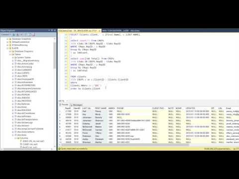 Sql Server Sub Query TSQL
